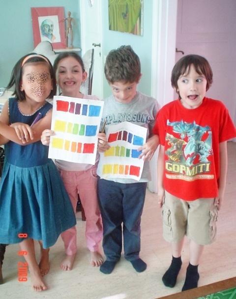 1. allievi 7 anni, studio del colore.jpg