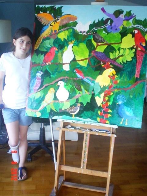 13. dipinto a olio su tela, allieva 10 anni.JPG