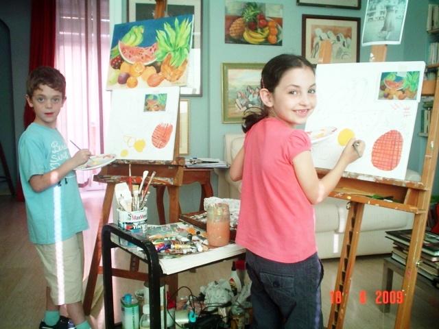 29. allievi 7 anni dipingono.jpg
