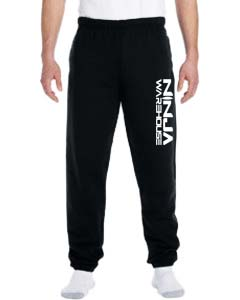 Youth/adult sweatpants . black with elastic at the ankles. (adult pants have pockets, youth pants do not) available in youth & adult. not available in toddler.  youth sizes available: s (6-8), m (10-12), L (14-16) adult sizes available: S, M, L  youth Price: $20+tax  adult price: $25+tax
