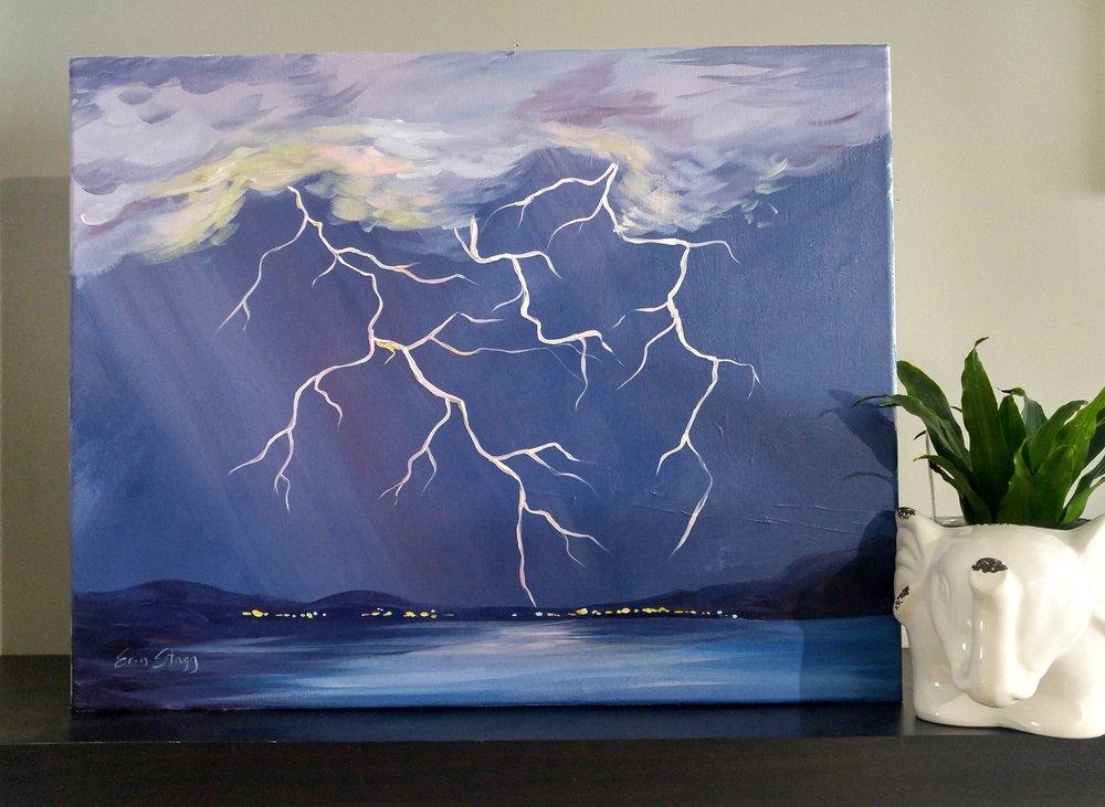 Lightning Strikes - Level: Easy, Time: 2.5 h