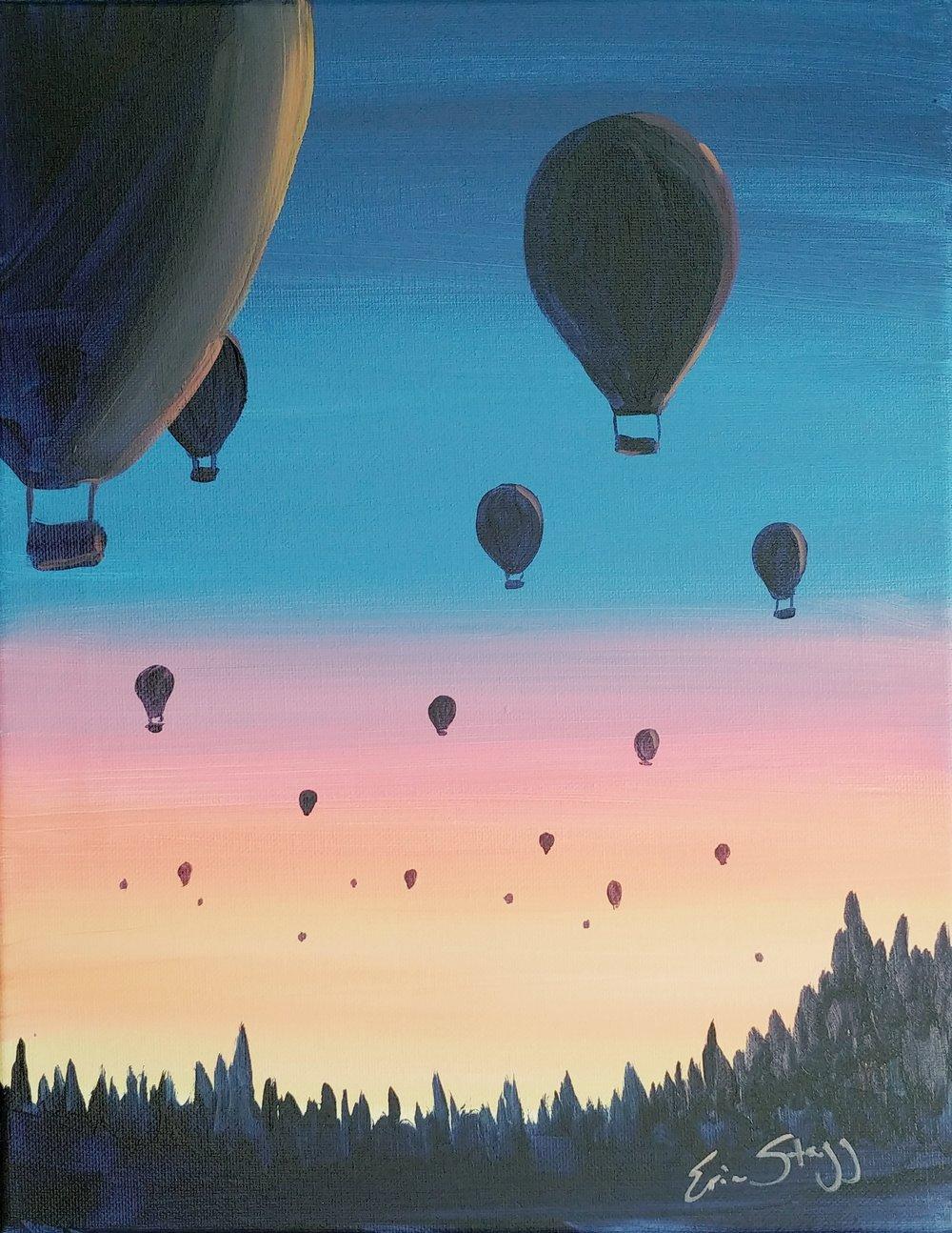 Hot Air Balloons - quick design