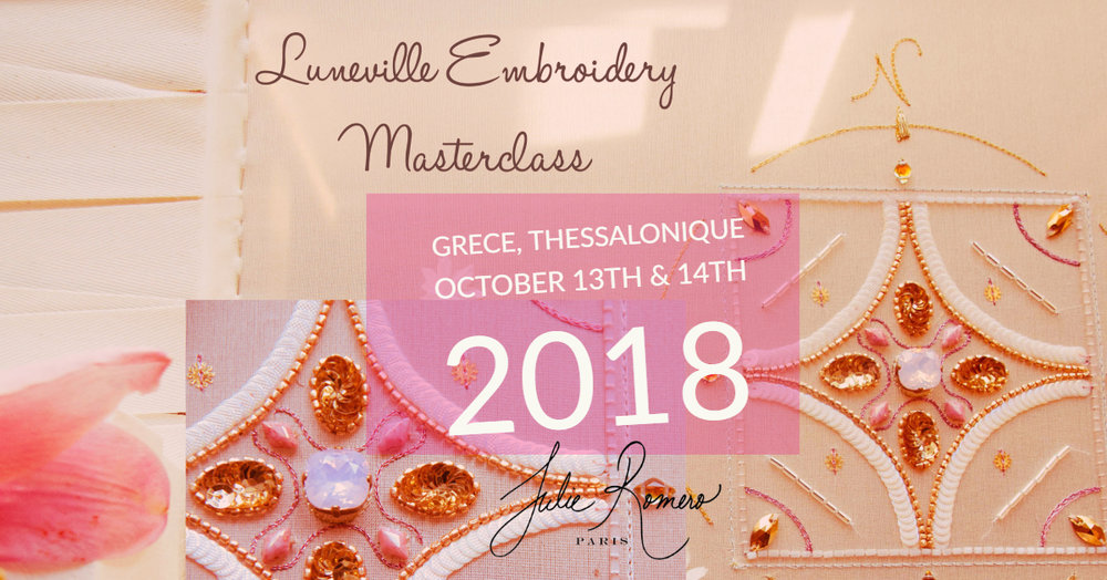 Luneville masterclass with Julie romero