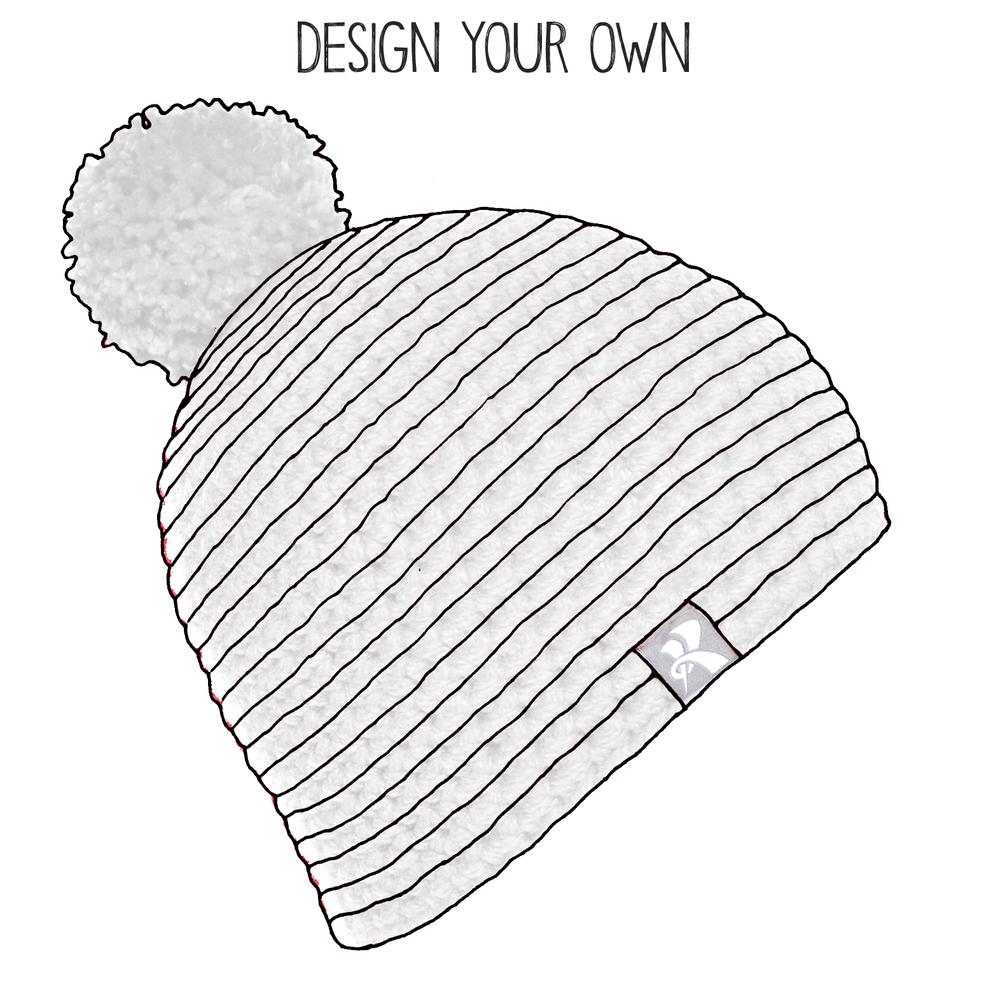a42e030273c3f3 DYO Pompom - Design Your Own — K BEANIES