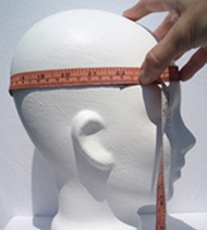 Important to know:  Your beanie will be custom made to your head measurement so if it stretches to fit someone with a much bigger head, it may not fit you as well as it did before.