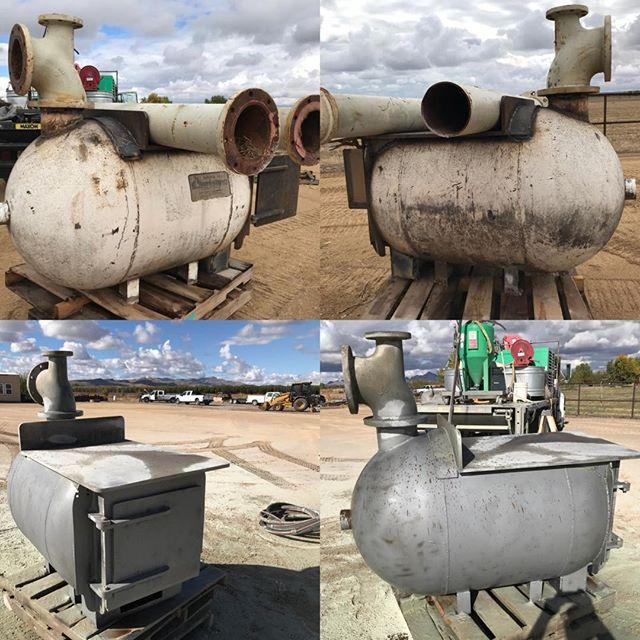 Blasting Propane tank converted to shop heater.  #cleanblast #mediablasting #sandblasting  #concreteblasting #stuccoblasting #paintremoval #commercialwork #industrialwork #buildingrestoration #marine #lascruces #elpaso #newmexico #texas