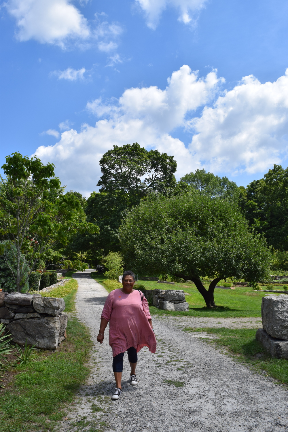 Poet Marilyn Nelson at Weir Farm