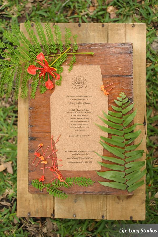 winsor event studio cork wedding invitation eco