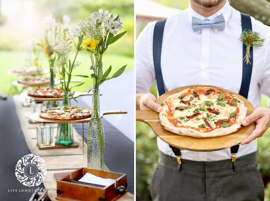 winsor event studio pizza food truck wedding