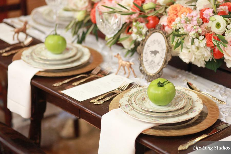 winsor event studio country wedding farm table