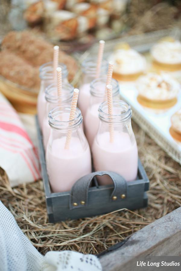 winsor event studio dessert milk bottles