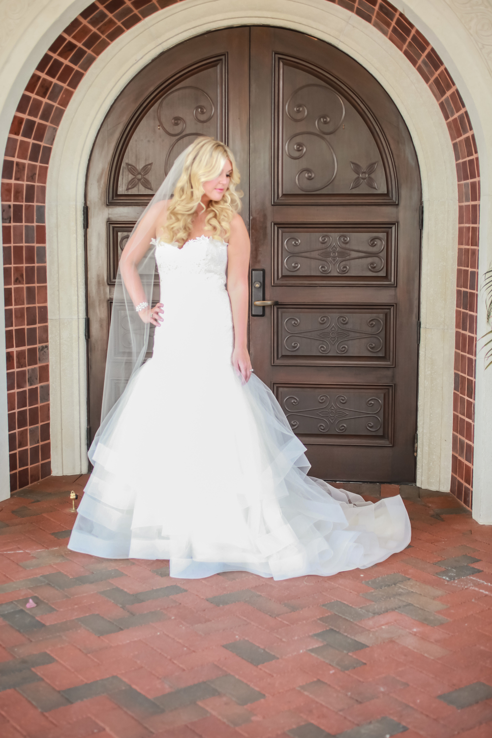winsor event studio mermaid bridal gown wedding