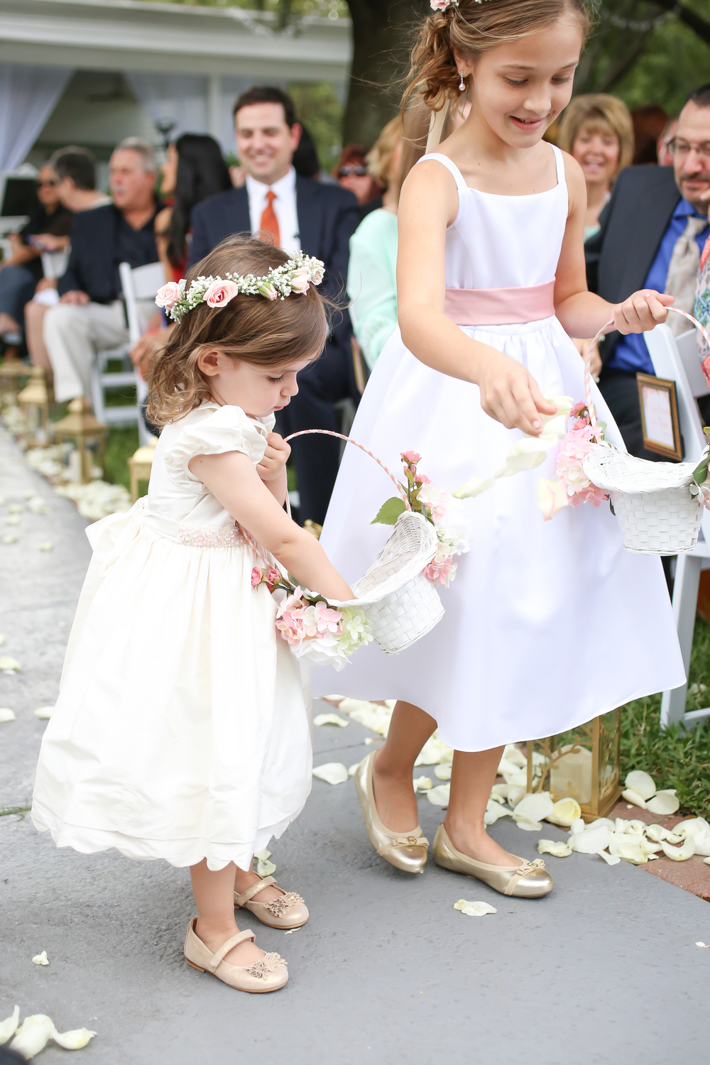 winsor event studio flower girls wedding
