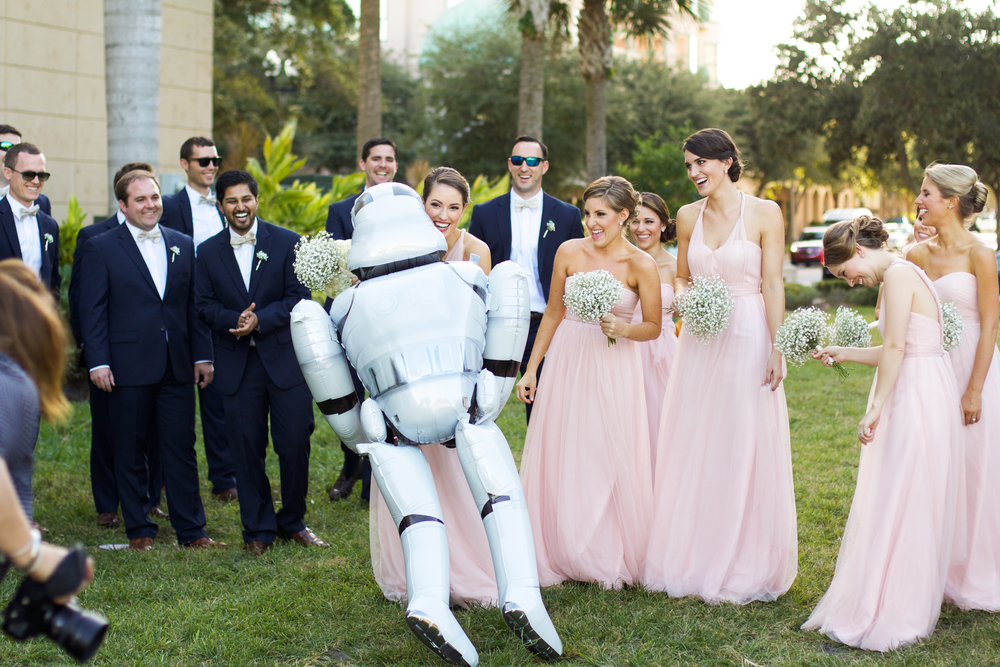 winsor event studio star wars stormtrooper wedding