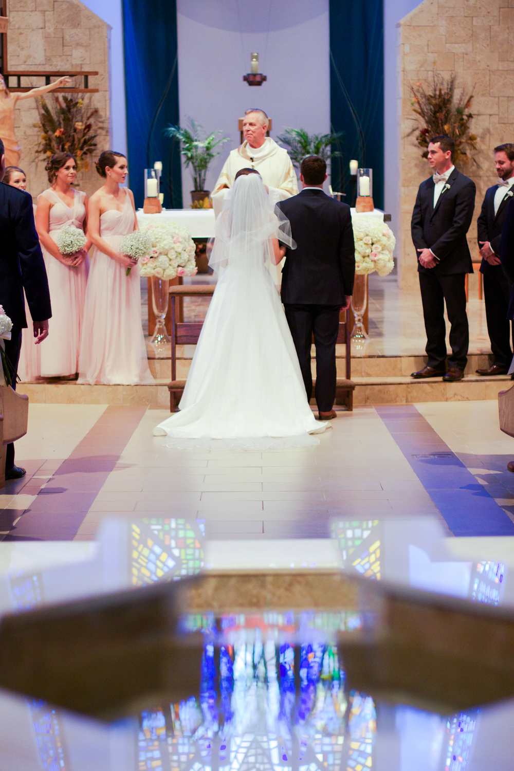 winsor event studio catholic church cathedral ceremony wedding