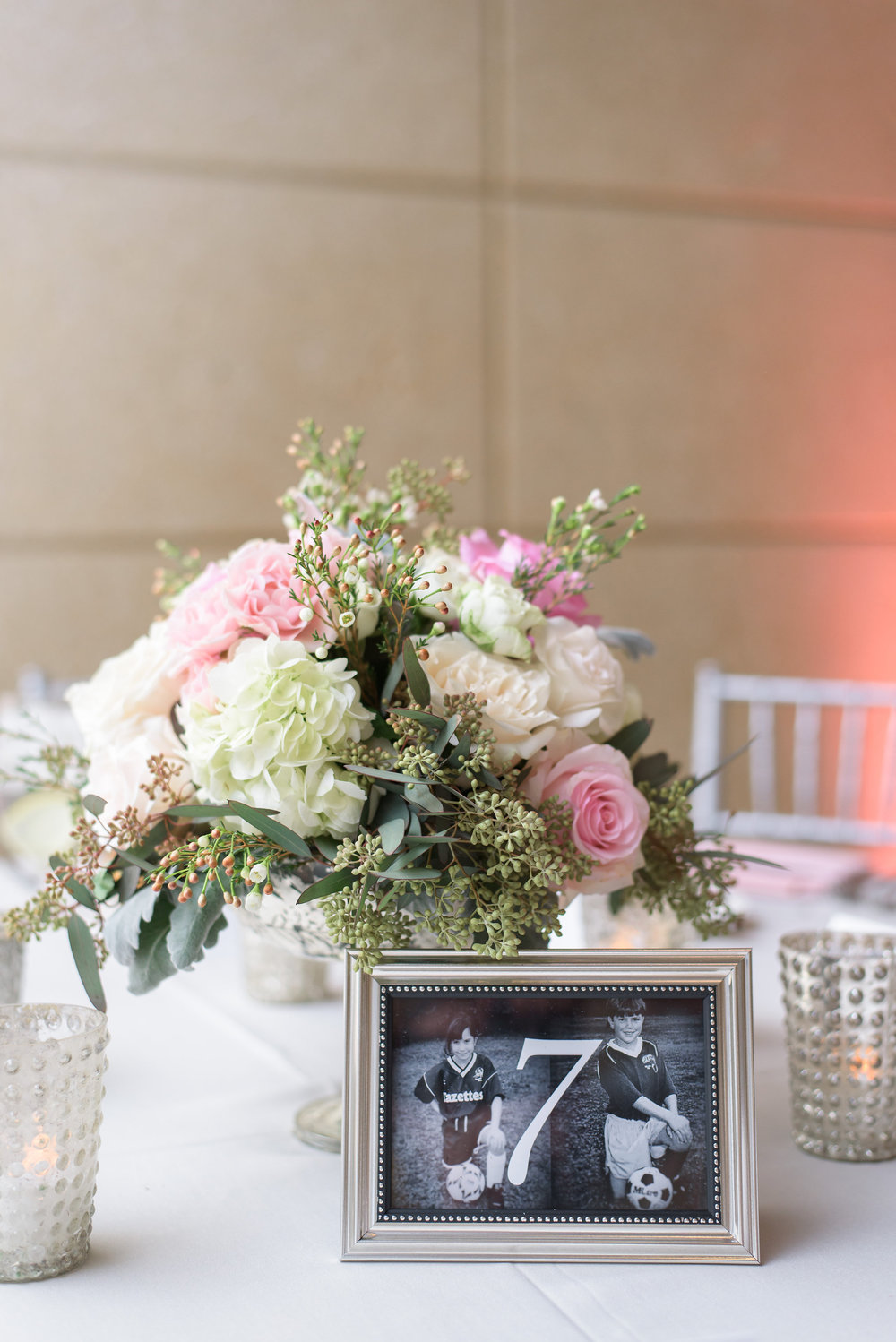 winsor event studio wedding table number photo age