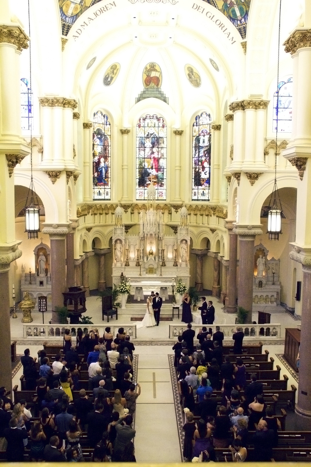 winsor event studio sacred heart catholic church wedding