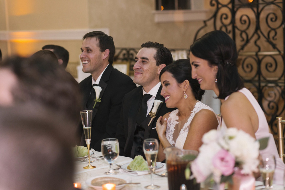 winsor event studio bride groom toast wedding