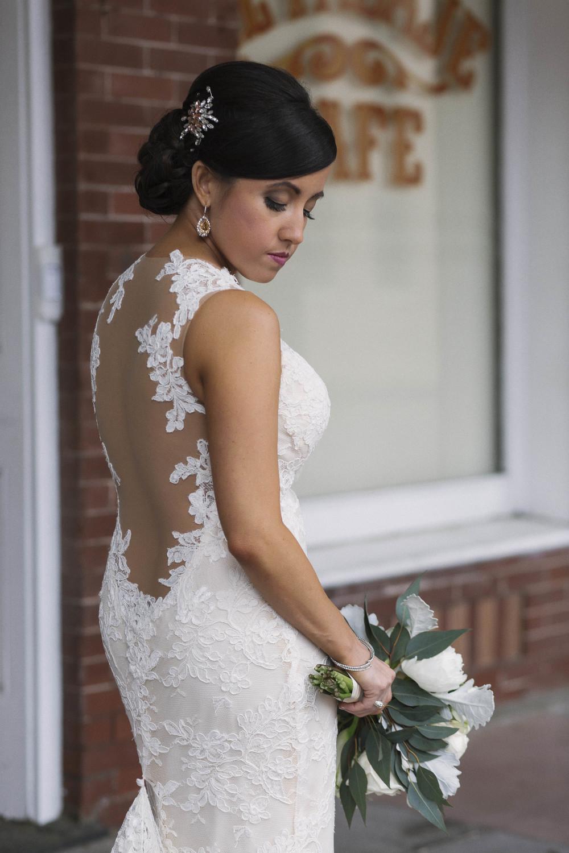 winsor event studio illusion back low dress wedding