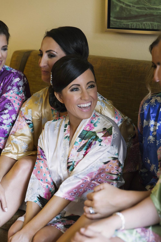 winsor event studio silk robe bridesmaid