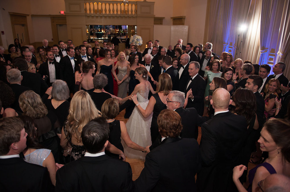 A true celebration, with every guest on their feet partying!