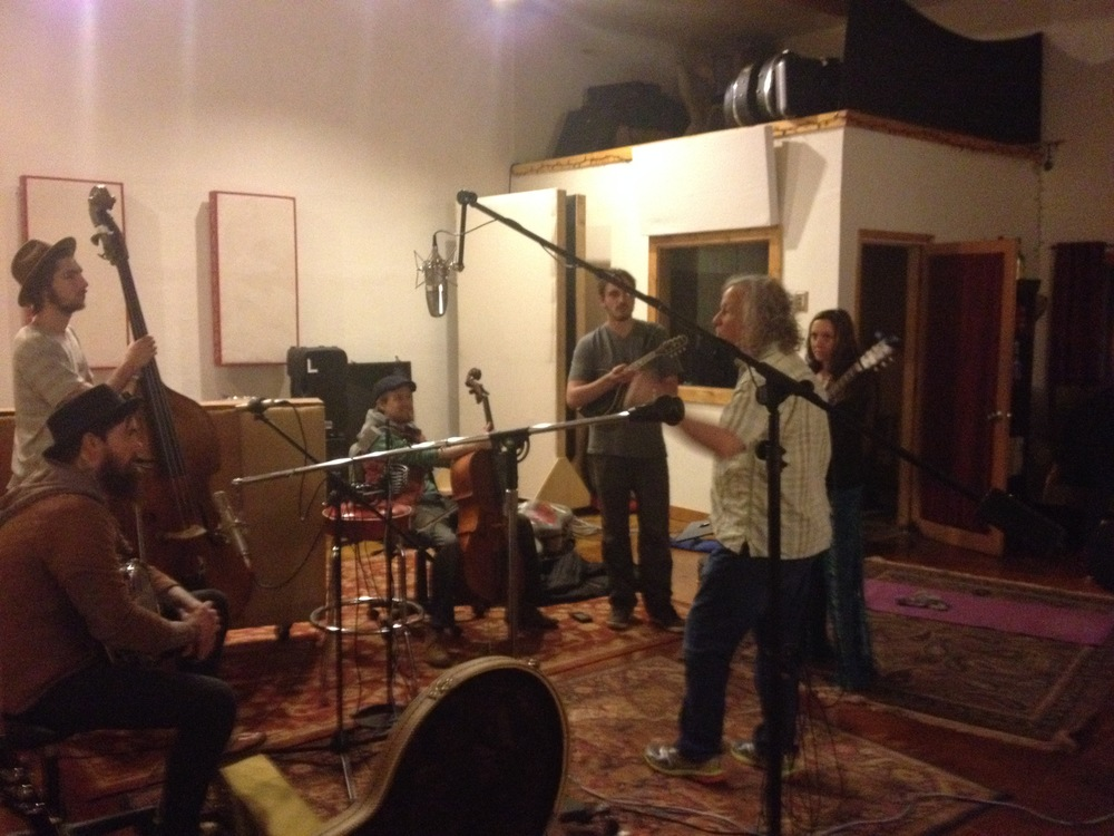 Recording our Latest Album with Tim Carbone