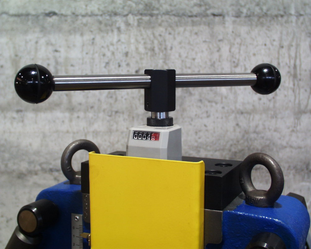 BS50M Mechanical Top Roll Adjustment and Counter