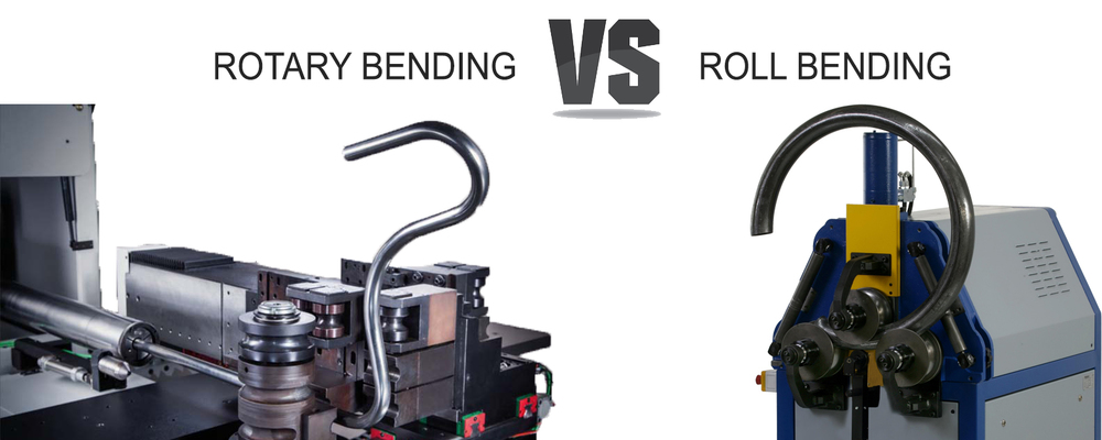 Rotary Bending VS Roll Bending