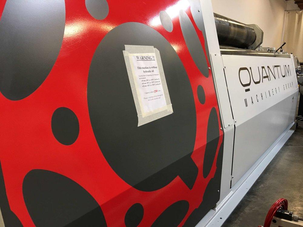Quantum plate roll
