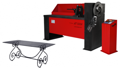 MT150A: INDUSTRIAL SCROLLING AND TWISTING MACHINE