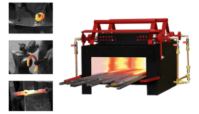 H1: INDUSTRIAL PROPANE GAS FORGE FURNACE