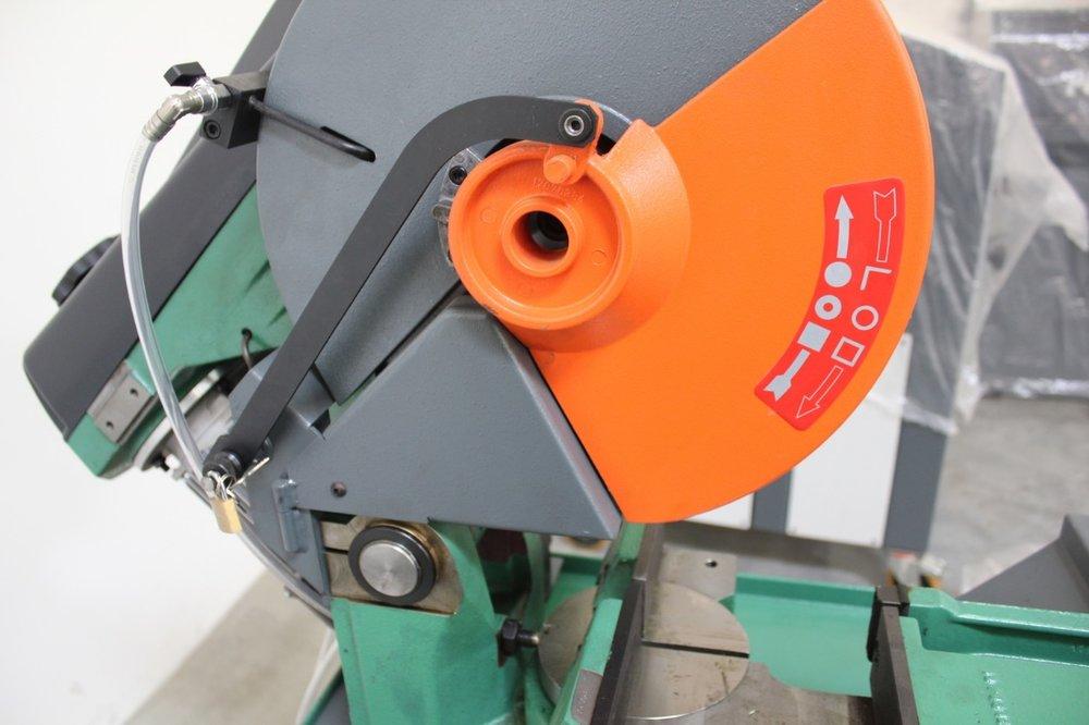 Non ferrous cold saws