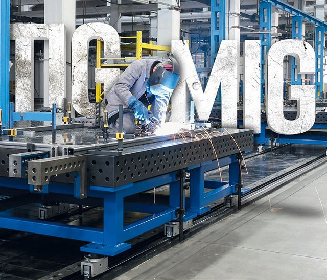Welders come from all beginnings and walks of life. We want to know which welding method all of you prefer, and why - THE Question is... TIG or MIG?? . . #quantumnation #quantummachinery #siegmund #welders #weld #welding #weldingtables #tig #or #mig #welder #thursdaythoughts #tt #machinery #machines #weldernation #usa #america #trusted #supplier
