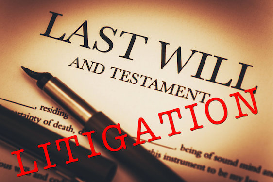 PROBATE AND ESTATE LITIGATION