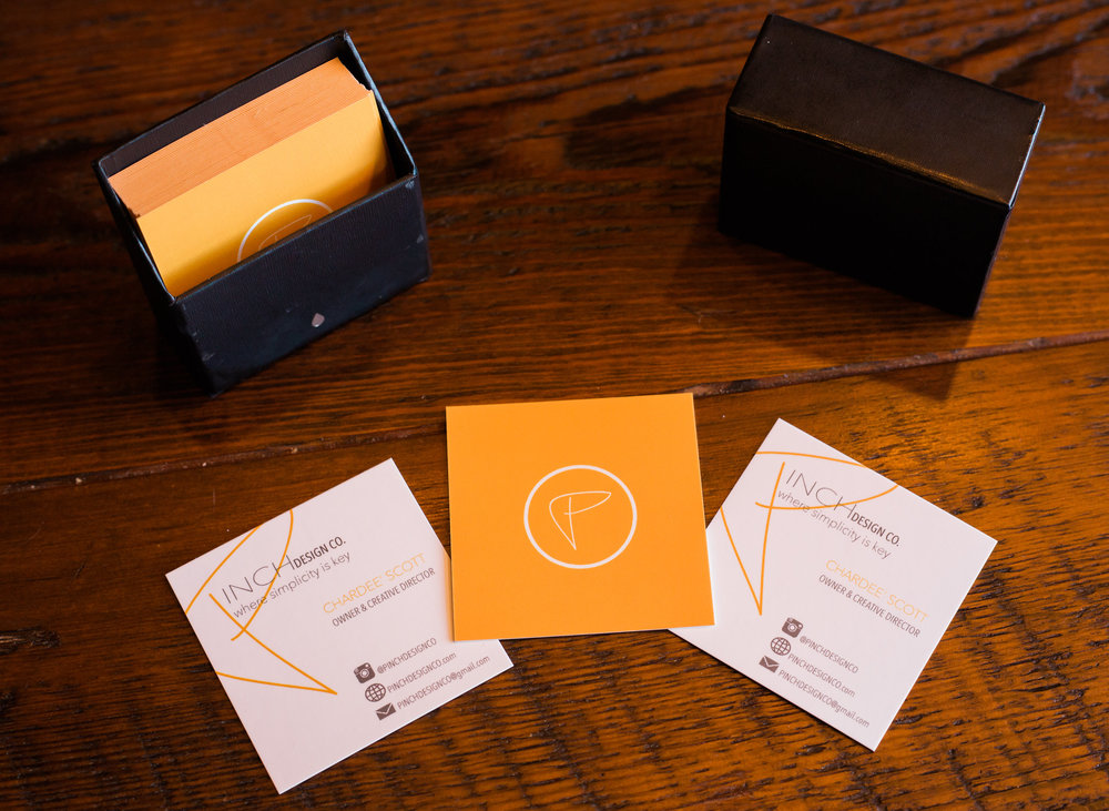 Pinch Design Co. Business Cards
