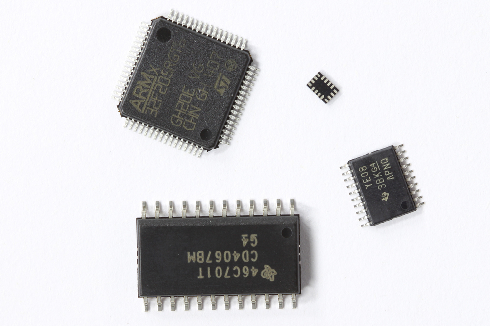 Modern integrated circuits are now available in almost indefinite number of packages and pitches. The QFN and BGA packages tend to be more challenging when prototyping or hand assembling the boards.