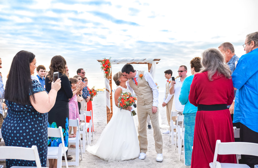 KELLY & CURT  - Wedding on St. Pete Beach
