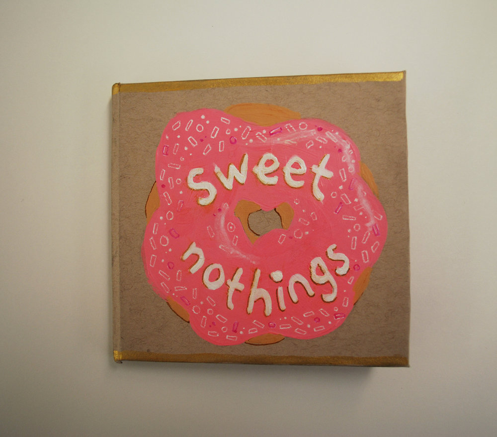 For example, here's one from 2013 about heartbreak & disappointment called Sweet Nothings!
