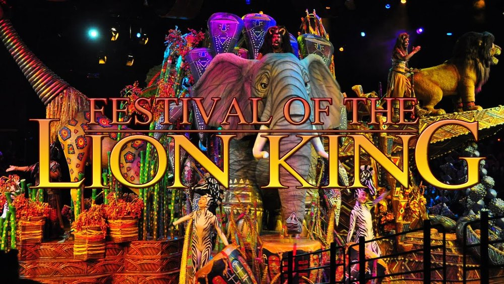 Swing into jungle fun with acrobats and fire dancers as Simba, Timon and Pumbaa come to life in a musical extravaganza.