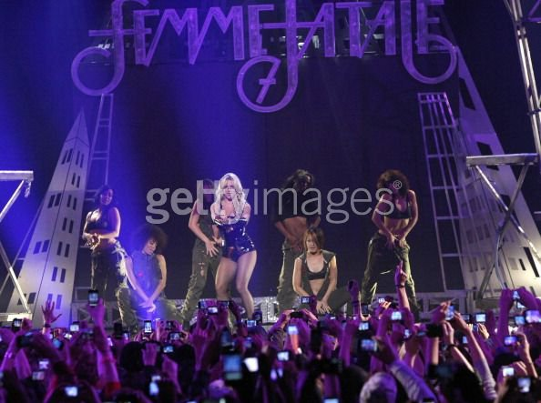 "Britney Spears ""Femme Fatale"" promo tour 2011"