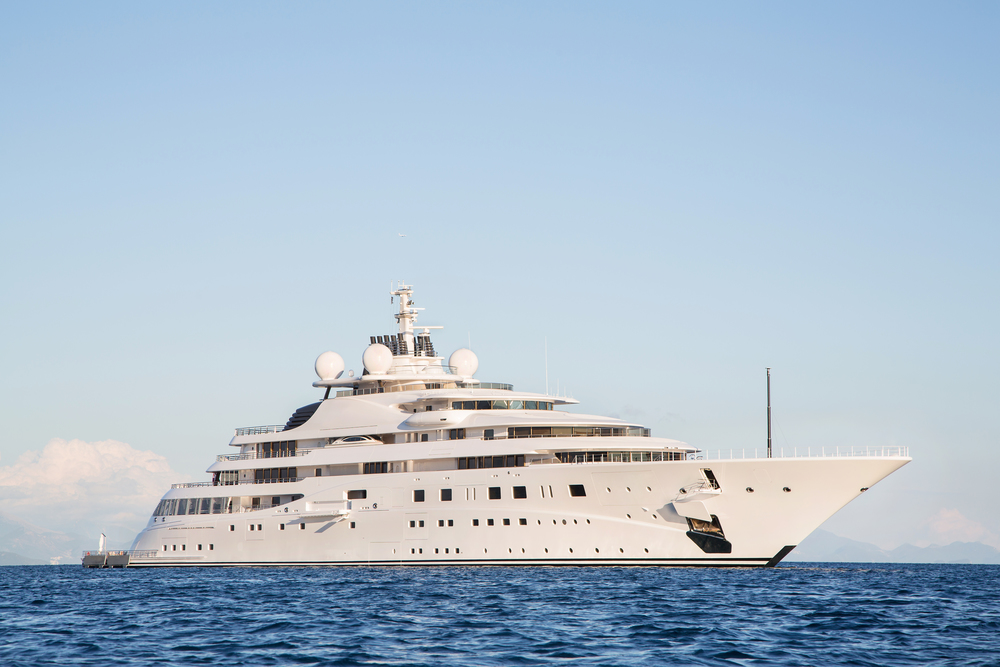 Large Luxury Yatch