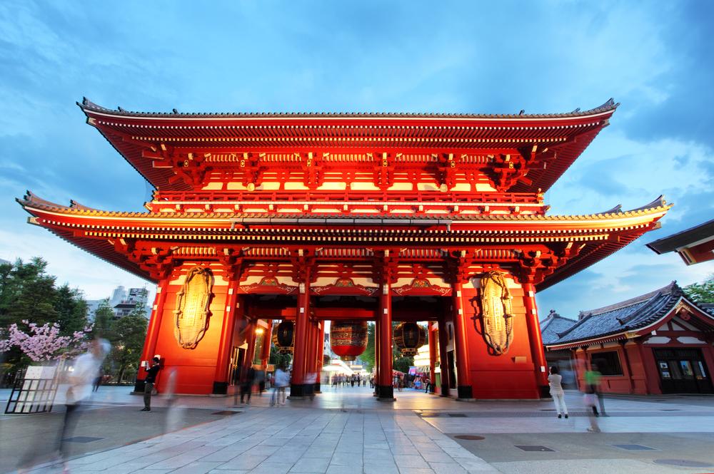 Tokyo Sensoji-ji-Tempo