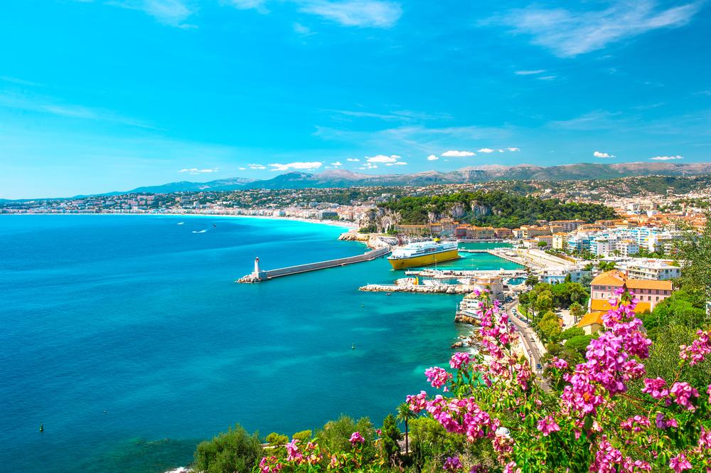 French Riviera Mediterranean