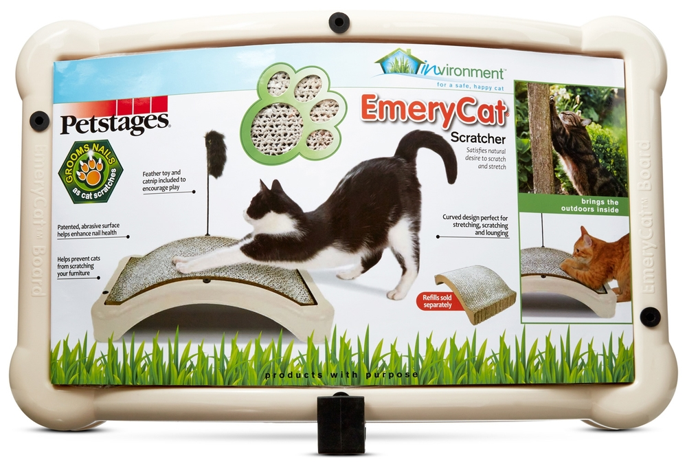 Emery Cat Scratcher - NEW - Environment Design - Earth Friendly