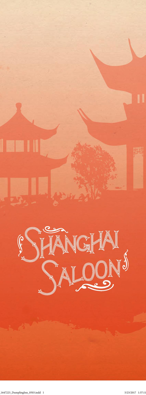 Shanghai Saloon Menu