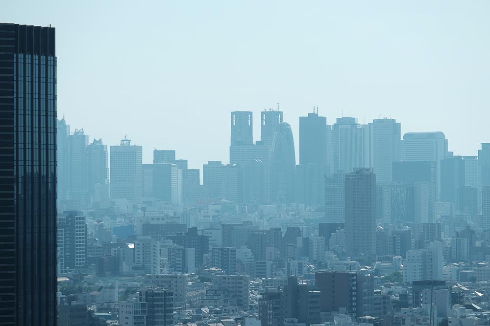 Hazy Shinjuku