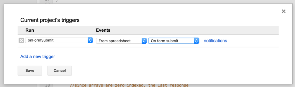on form submit google apps script date