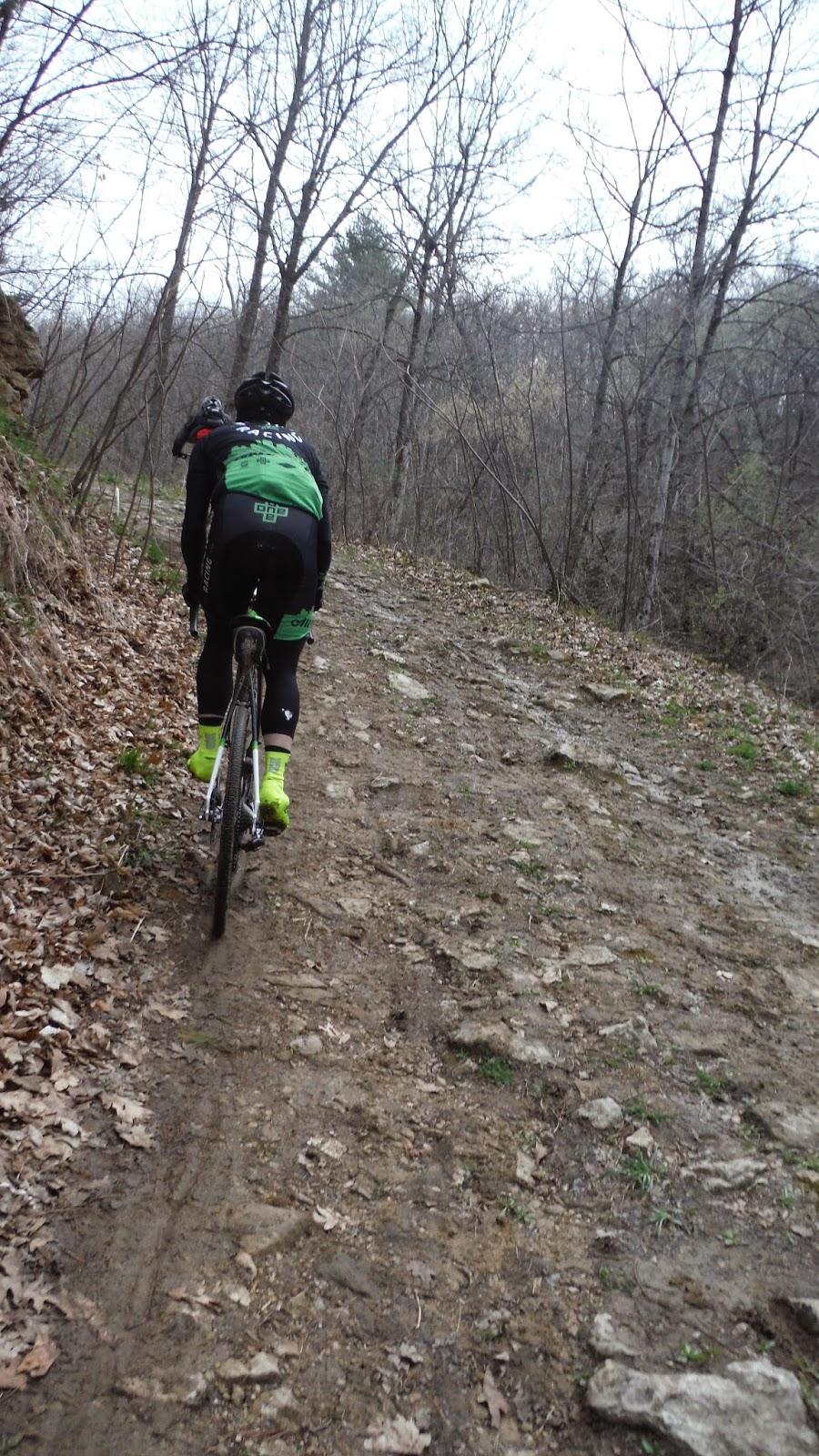 Fun climb in some muddy dirt. I like the off-road stuff the best.