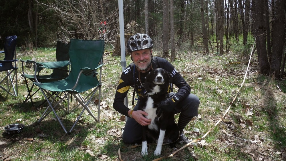 Me & Dickie - event namesake and founder's best friend.