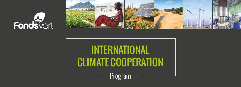 International Climate Cooperation Program - Quebec